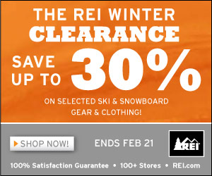REI Winter Sale!
