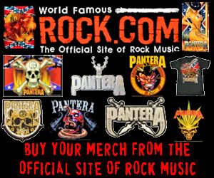Get Pantera T-Shirts & Merch from Rock.com