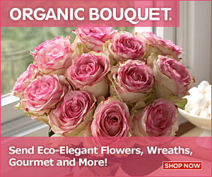 OrganicBouquet promo
