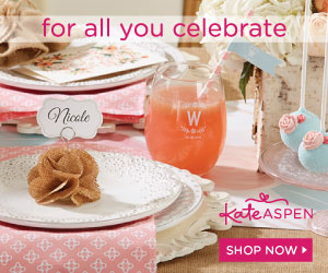 Shop Kate Aspen for Party Decor Supplies and Favors for all YOU celebrate.