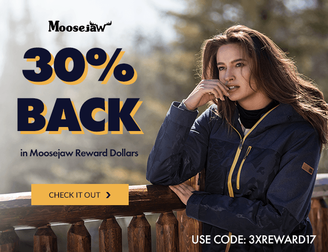 Get 30% Back In Rewards Dollars with code