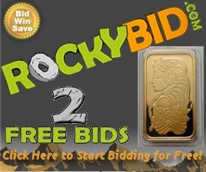 2 Free Bids at RockyBid.com