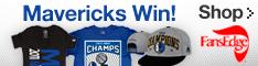 Shop Mavericks Championship Gear at FansEdge.com!