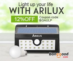 Extra 12% OFF for ARILUX LED Lighting Promotion