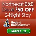 $$50 Off Business Travel at BedandBreakfast.com