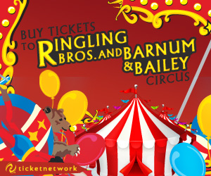 Find  Tickets to see the  Ringling Bros. And Barnum & Bailey Circus