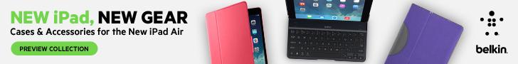 New Apple iPad Air Belkin Accessories