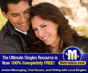 Meet singls in your city at Metrodate.com!