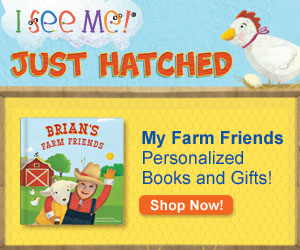 My Farm Friends personalized board book