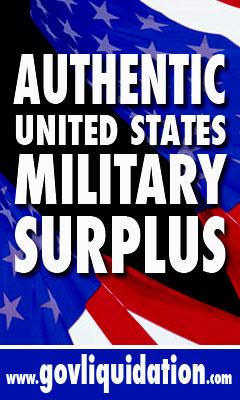 Authentic United States Military Surplus
