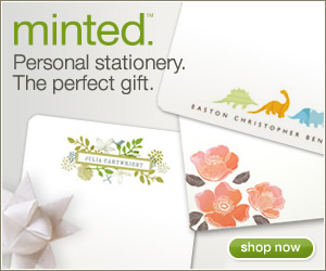 Minted Personalized Stationery Gifts