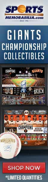 Shop for Authentic Giants 2014 World Series Champs Collectibles at SportsMemorabilia.com