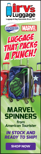 Marvel Spinners - Luggage that Packs a Punch!