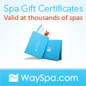 Get gift certificates at thousands of spas!