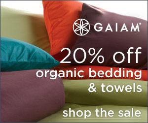 Sateen Sheet Sale At Gaiam.com!