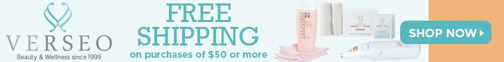 Free Shipping at Verseo.com