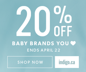 The Baby Event: 20% off select baby items