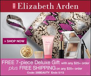 Elizabeth Arden: Free 7-Piece Deluxe Gift
