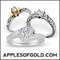125x125 three rings in white