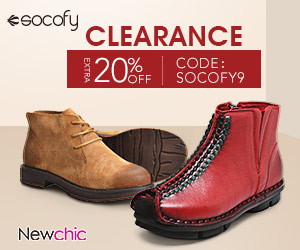 20% Off Socofy Women Shoes