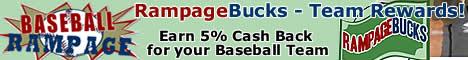 RampageBucks - Earn 5% CashBack for your Team!