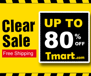 Clearance Sale - Up To 80% OFF Tmart.com