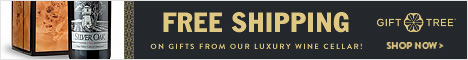Free Shipping On Gifts From Our Luxury Wine Cellar!