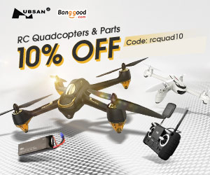 Extra 10% OFF For Hubsan RC Quadcopters & Parts