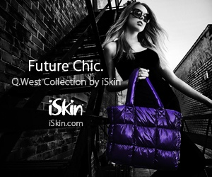 Q.West by iSkin - Future Chic Gadget Carriers