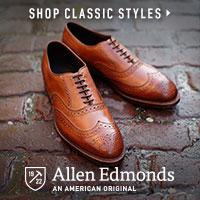 Allen Edmonds Mens Shoes