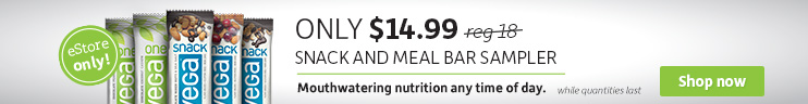 Vega Snack and Meal Bar Bundle $14.99