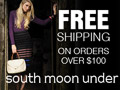 South Moon Under Free Shipping