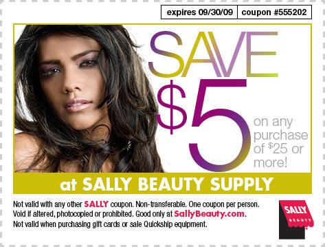 Save $5 at SallyBeauty.com!