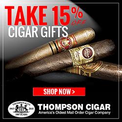 Take 15% off Cigar Gifts! Use Promo Code: GIFT15 at cart