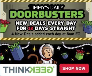 Think Geek Doorbusters