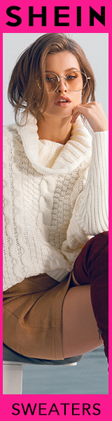 160x600 Fantastic Deals on Sweaters!  Visit SheIn.com Limited Time Offer!