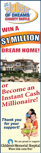 Win a $1 Million Dream Home or $1,000,000 cash!