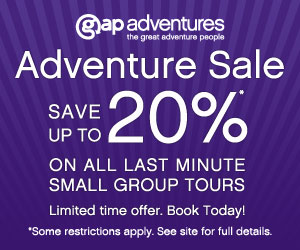 Save up to 25% G.A.P Adventures