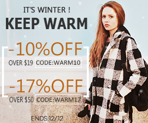 keep warm in winter -17% off when order over $50