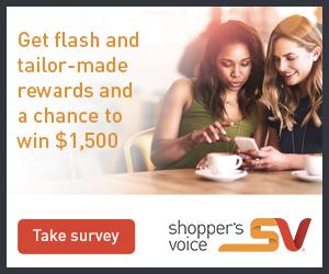 Shopper's Voice is a premier marketing survey