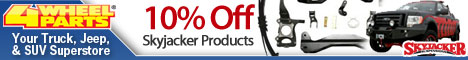 10% Off any Skyjacker Product