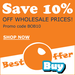 Save 10% Plus Free Shipping At BestOfferBuy!