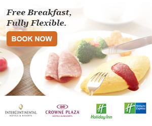 Free Breakfast with IHG Hotels
