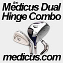 Medicus Dual Hinged Combo - Golf Training Aid