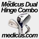 Medicus Dual Hinged Combo - Golf Training Aid