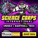 ThinkGeek's Science Corps
