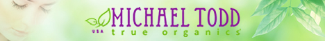 Michael Todd True Organics Brand Banner