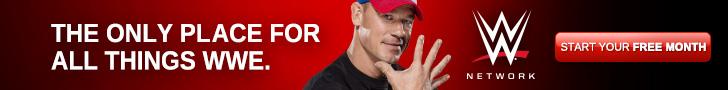 WWE Network Cena 728x90