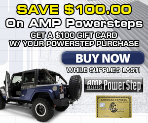 Buy  select AMP Powersteps and get Lund Catch-It Front Floor Mats for Free!