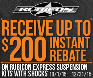 Jeep Wrangler 3.5 Inch Suspension Lift Kits from Rubicon Express are up to $200 off.